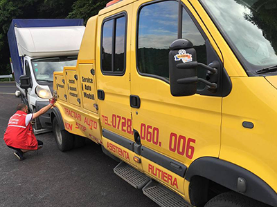 Depanare la fata-locului sau transport la service autorizat